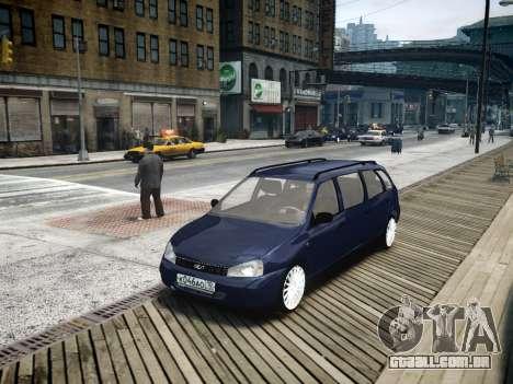 VAZ Kalina 1117 7-porta para GTA 4
