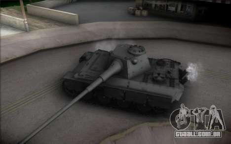 Panther II para GTA San Andreas vista interior
