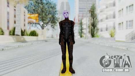 Mass Effect 1 Asari Shiala Commando para GTA San Andreas segunda tela