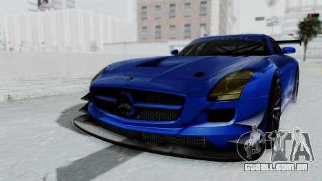 Mercedes-Benz SLS AMG GT3 PJ5 para GTA San Andreas vista direita
