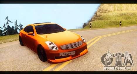 Infiniti G35 para GTA San Andreas