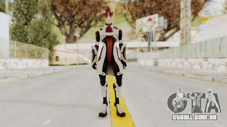 Mass Effect 2 Mordin Solus para GTA San Andreas segunda tela