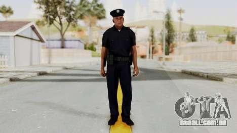 GTA 5 LA Cop para GTA San Andreas segunda tela