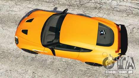 GTA 5 Aston Martin V12 Zagato v1.2 voltar vista