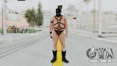 Manhunt 2 - Gimp Bouncer para GTA San Andreas segunda tela