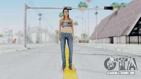 GTA 5 Liz (Elisa Macallen) para GTA San Andreas segunda tela