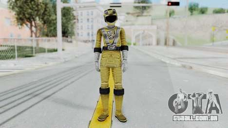 Power Rangers RPM - Yellow para GTA San Andreas segunda tela
