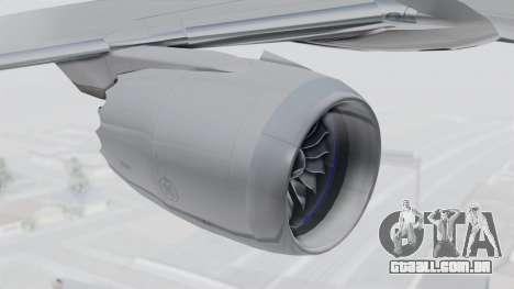 Boeing 777-9X Japan Airlines para GTA San Andreas vista direita