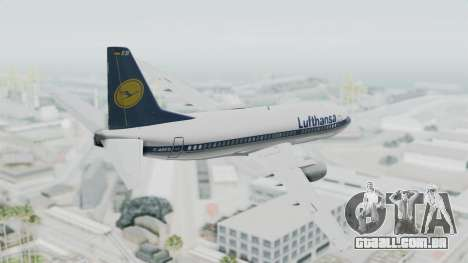 Boeing 737-300 para GTA San Andreas esquerda vista