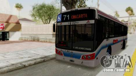 Todo Bus Pompeya II Agrale MT15 Linea 71 para GTA San Andreas