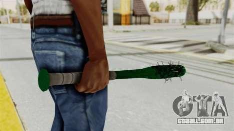 Nail Baseball Bat v1 para GTA San Andreas terceira tela