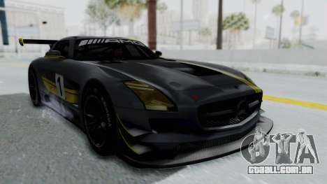 Mercedes-Benz SLS AMG GT3 PJ5 para o motor de GTA San Andreas