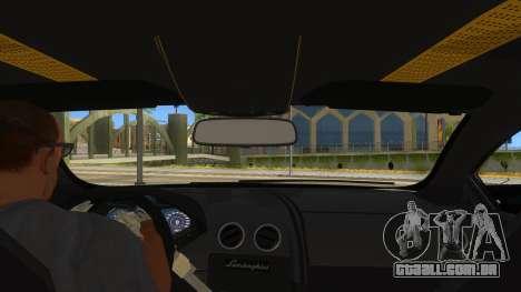 Lamborghini Reventon Monster Truck para GTA San Andreas vista interior