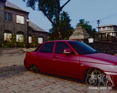 VAZ 2110 para GTA 4 esquerda vista