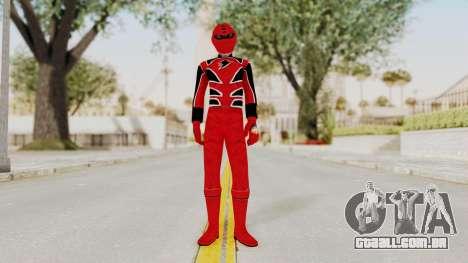 Power Rangers Jungle Fury - Red para GTA San Andreas segunda tela