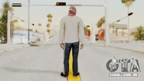 Middle East Insurgent v1 para GTA San Andreas terceira tela