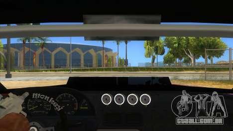 Elegy Tio Sam Style para GTA San Andreas vista interior