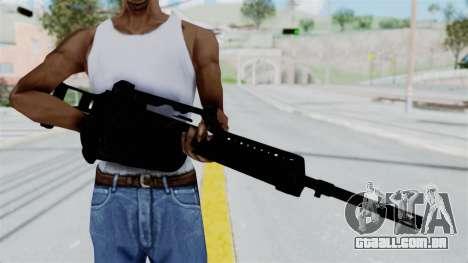 MG36 para GTA San Andreas