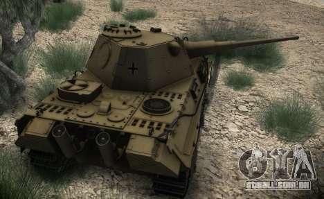 Panther II para GTA San Andreas vista direita