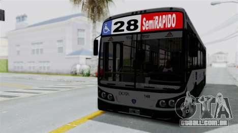 TodoBus Pompeya II Scania K310 Linea 28 para GTA San Andreas