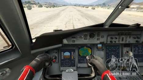 GTA 5 Bombardier Dash 8Q-400 quarto screenshot