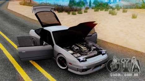 Nissan 180SX Type X para GTA San Andreas esquerda vista