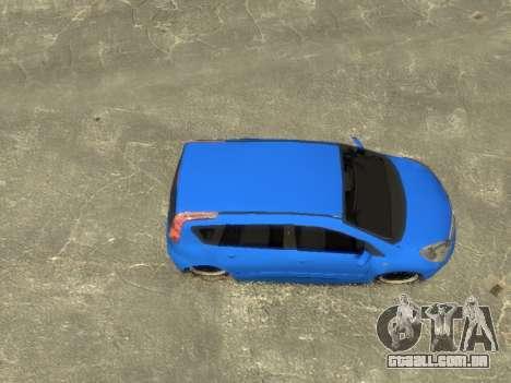 Nissan Note para GTA 4 vista direita