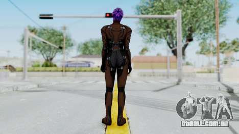 Mass Effect 1 Asari Shiala Commando para GTA San Andreas terceira tela
