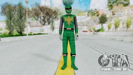 Power Rangers Ninja Storm - Green para GTA San Andreas segunda tela