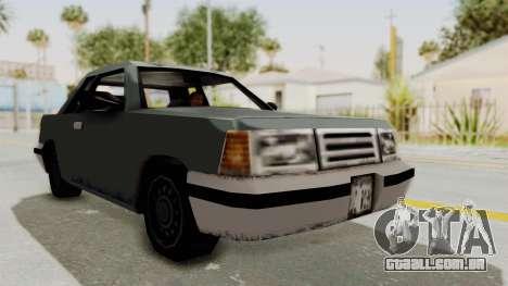GTA 3 Corpse Manana para GTA San Andreas vista direita