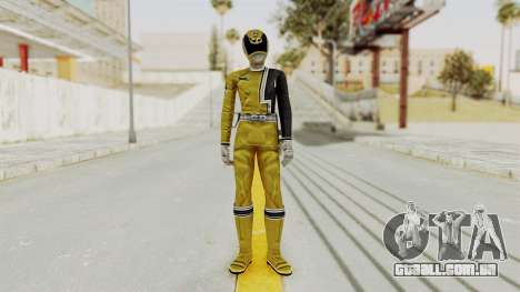 Power Rangers S.P.D - Yellow para GTA San Andreas segunda tela