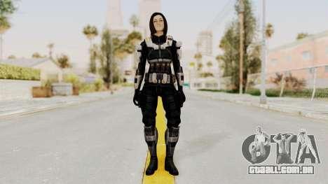 Mass Effect 3 Miranda Short Hair Ajax Armor para GTA San Andreas segunda tela