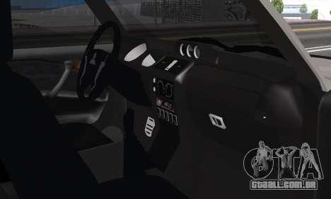 Mitsubishi Pajero 2 para GTA San Andreas vista interior