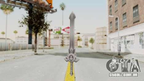 Horse Orphnoch Sword para GTA San Andreas segunda tela