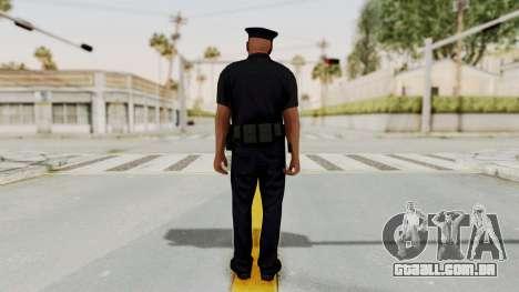 GTA 5 LA Cop para GTA San Andreas terceira tela