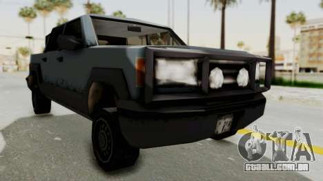 GTA 3 Cartel Cruiser para GTA San Andreas vista direita