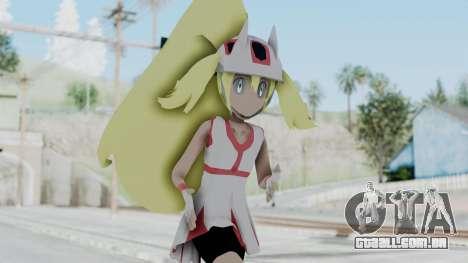 Pokémon XY Série - Korrina v1 para GTA San Andreas