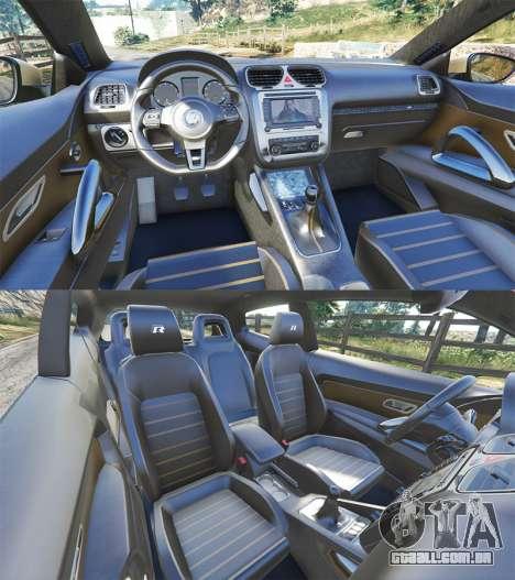 Volkswagen Scirocco R III Typ 13 2011 para GTA 5