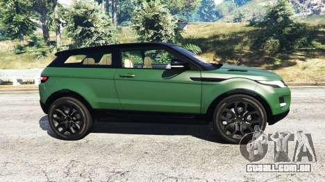 Range Rover Evoque v2.0 para GTA 5