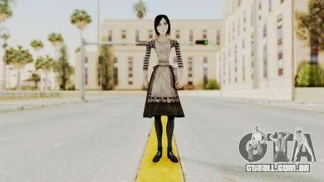 Alice London Madness Returns para GTA San Andreas segunda tela