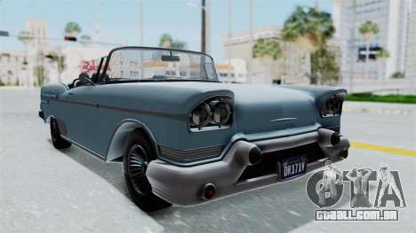 GTA 5 Declasse Tornado No Bobbles and Plaques para GTA San Andreas vista direita