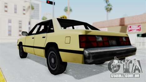 GTA Vice City - Taxi para GTA San Andreas vista direita