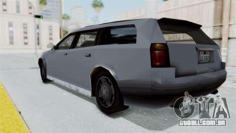 GTA LCS Sindacco Argento v2 para GTA San Andreas esquerda vista