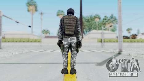 Black Mesa - HECU Marine v3 para GTA San Andreas terceira tela