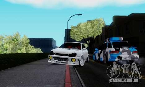 Subaru Impreza WRX STi Wagon Stens para GTA San Andreas vista direita