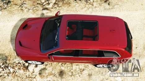 Jeep Grand Cherokee SRT-8 2015 v1.1 para GTA 5