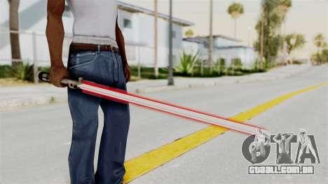 Star Wars LightSaber Red para GTA San Andreas