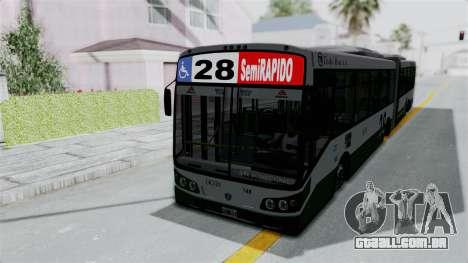 TodoBus Pompeya II Scania K310 Linea 28 para GTA San Andreas vista direita