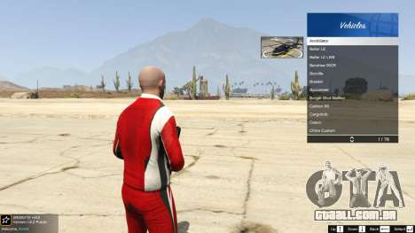 GTA 5 A the body shop benny's no modo single quinta imagem de tela