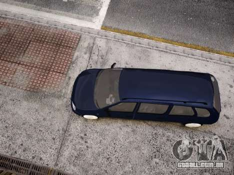 VAZ Kalina 1117 7-porta para GTA 4 vista superior